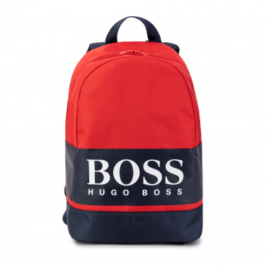 Mochila color block BOSS para NIÑO