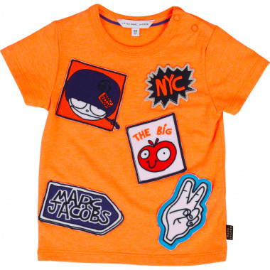 Camiseta parches Mister Marc LITTLE MARC JACOBS para NIÑO