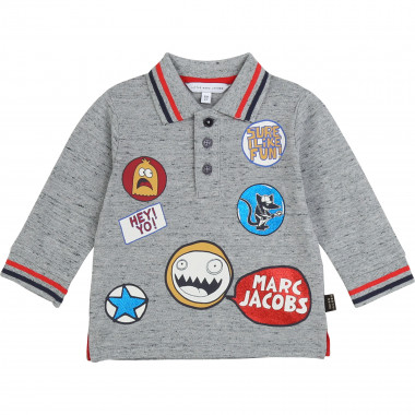 Polo de piqué de algodón THE MARC JACOBS para NIÑO