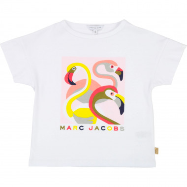 Camiseta flamencos rosas LITTLE MARC JACOBS para NIÑA