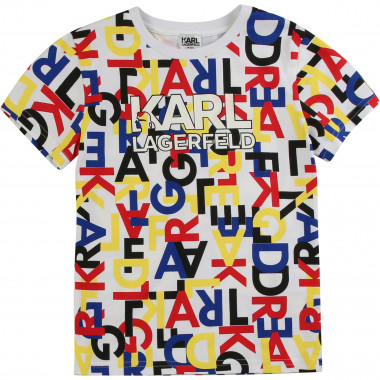 Camiseta estampado multicolor KARL LARGERFELD KIDS para NIÑO
