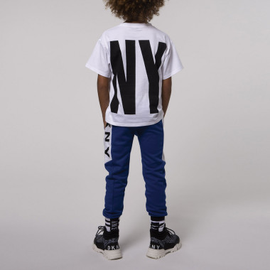 Fleece joggers DKNY for BOY