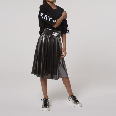 Silver-coloured formal skirt DKNY for GIRL