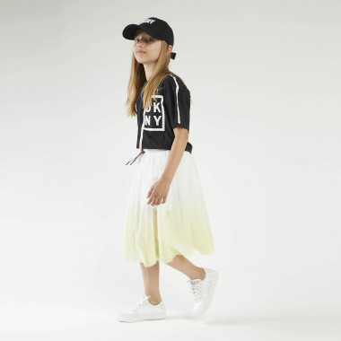 Dip-dyed mesh skirt DKNY for GIRL