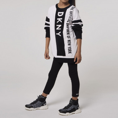 Cotton jersey leggings DKNY for GIRL