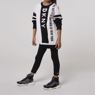 High-top printed trainers DKNY for GIRL
