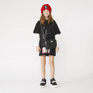 High-top trainers with hook-and-loop fastening DKNY for GIRL