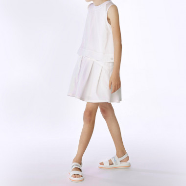 Sleeveless 2-in-1-effect dress BOSS for GIRL