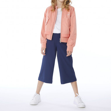 Wide-legged cropped trousers BOSS for GIRL