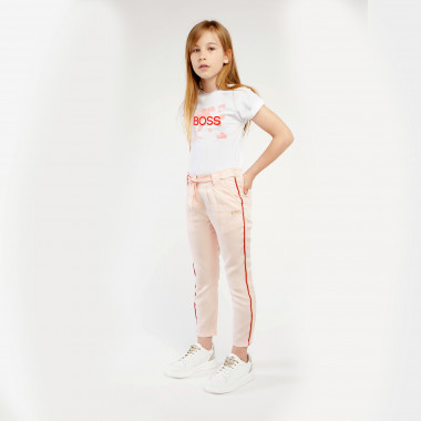 Cotton jersey T-shirt BOSS for GIRL