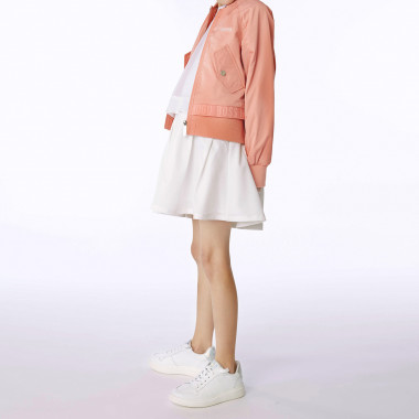 Structured waterproof jacket BOSS for GIRL