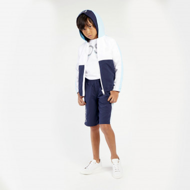 Bermudas with silver logo BOSS for BOY