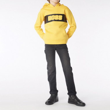 Hooded fleece sweatshirt BOSS for BOY