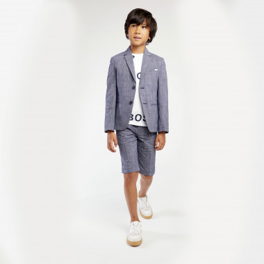 Cotton suit jacket BOSS for BOY