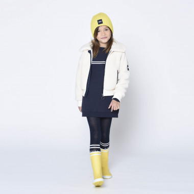 Lined sherpa cardigan AIGLE for GIRL