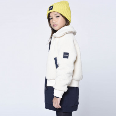 Organic cotton and wool beanie AIGLE for UNISEX