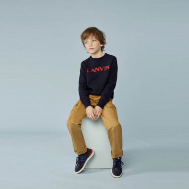 Wool and cotton jumper LANVIN for BOY