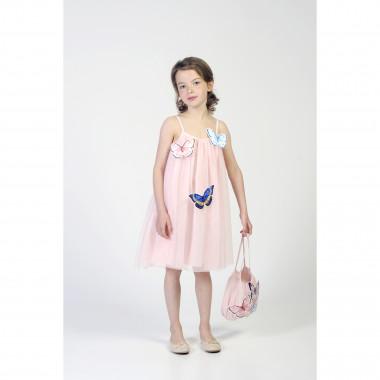 Strappy butterfly dress CHARABIA for GIRL