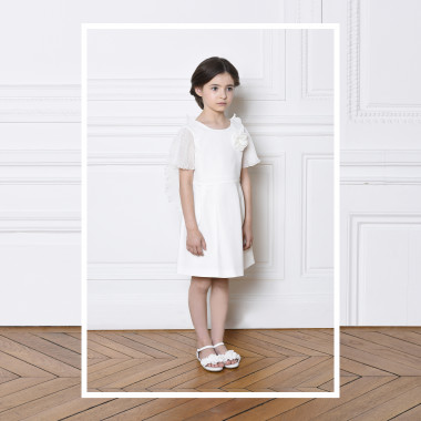 Formal dress with wings CHARABIA for GIRL