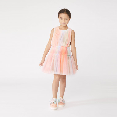 Shaded tulle dress CHARABIA for GIRL