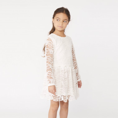 Heart lace dress CHARABIA for GIRL