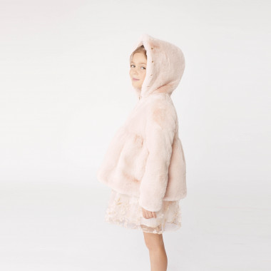 Faux-fur coat CHARABIA for GIRL