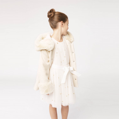Tweed party coat CHARABIA for GIRL
