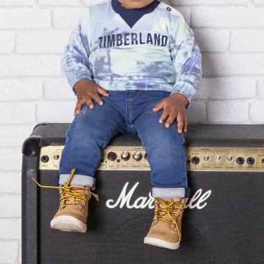 Fleece-effect jeans TIMBERLAND for BOY