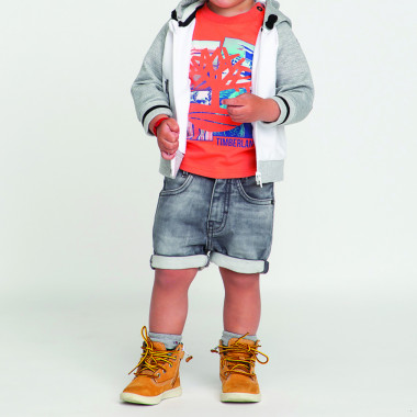 Hooded zip-up jumper TIMBERLAND for BOY