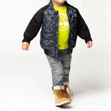 Camouflage print jacket TIMBERLAND for BOY