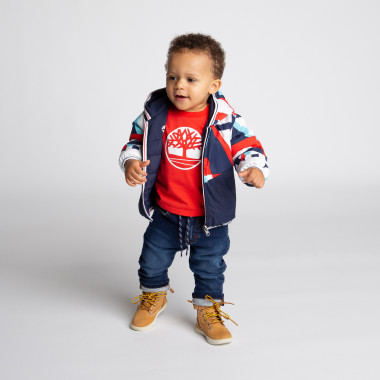 Reversible puffer jacket TIMBERLAND for BOY
