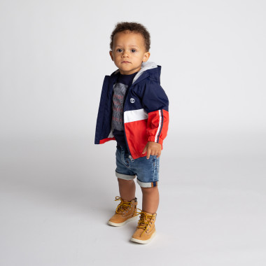Waterproof hooded jacket TIMBERLAND for BOY