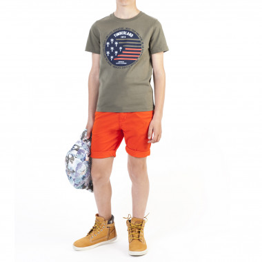Plain Bermuda chinos TIMBERLAND for BOY
