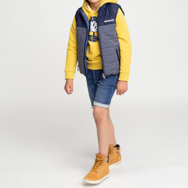 Fleece-effect Bermuda shorts TIMBERLAND for BOY
