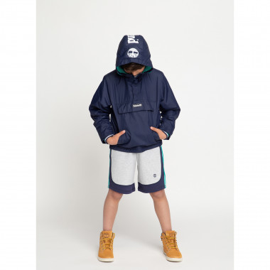 Fleece shorts with mesh detail TIMBERLAND for BOY
