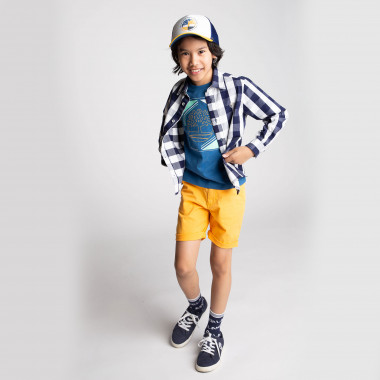 Stretch cotton bermuda shorts TIMBERLAND for BOY
