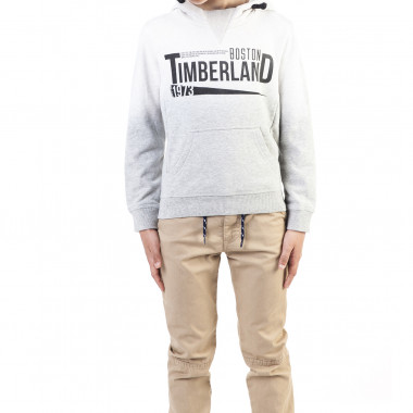 Hooded dip dye sweatshirt TIMBERLAND for BOY