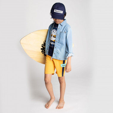 Long-sleeved denim shirt TIMBERLAND for BOY
