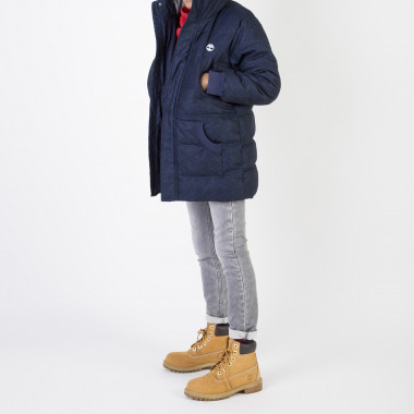 Long waterproof padded jacket TIMBERLAND for BOY