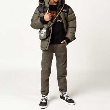 Hooded waterproof parka TIMBERLAND for BOY