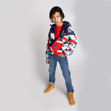 Reversible waterproof parka TIMBERLAND for BOY