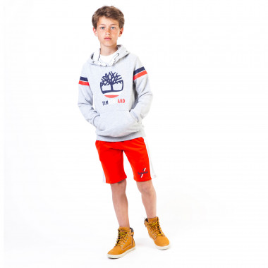Two-tone fleece bermuda shorts TIMBERLAND for BOY