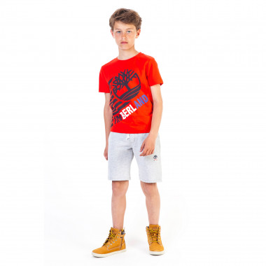 Cotton jersey slim-fit T-shirt TIMBERLAND for BOY