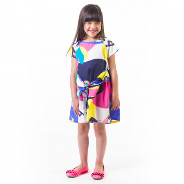 Cotton parrots dress BILLIEBLUSH for GIRL