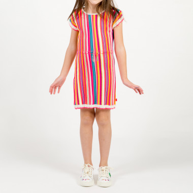 Striped knit cotton dress BILLIEBLUSH for GIRL