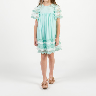 Ruffled tulle dress BILLIEBLUSH for GIRL