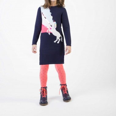 Novelty knit dress BILLIEBLUSH for GIRL