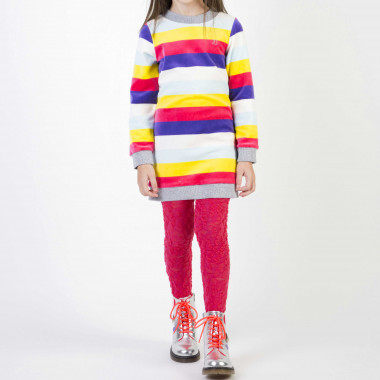 Striped velvet dress BILLIEBLUSH for GIRL