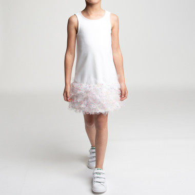 Milano wool dress with ruffles BILLIEBLUSH for GIRL