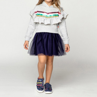 Dual-material dress with frill BILLIEBLUSH for GIRL